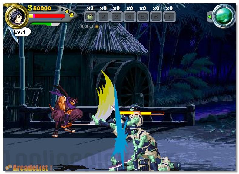 Swords Saga street fighting game image play free
