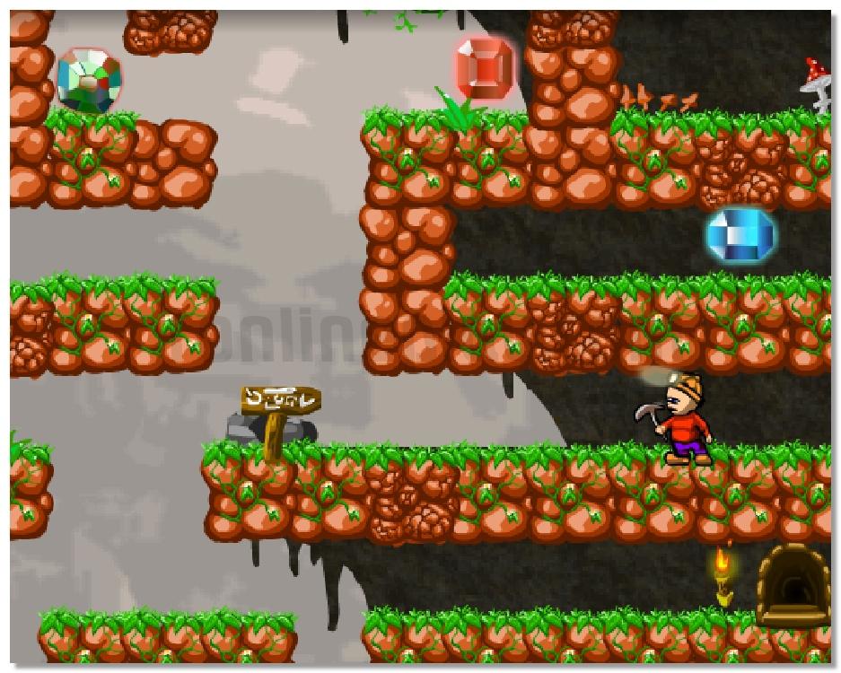 Treasure Hunt adventure arcade game image play free